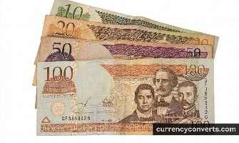 Dominican Peso DOP currency banknote image 2