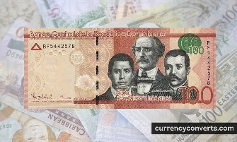 Dominican Peso DOP currency banknote image 3
