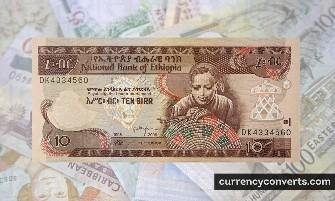 Ethiopian Birr ETB currency banknote image 2