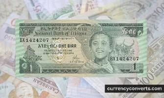 Ethiopian Birr ETB currency banknote image 3