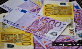 Euro EUR currency banknote image 2