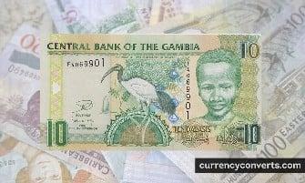 Gambian Dalasi - GMD money images