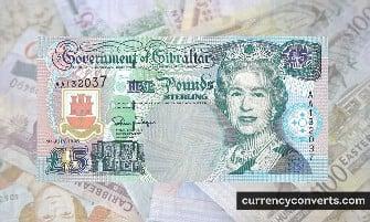 Gibraltar Pound - GIP money images