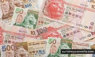 Hong Kong Dollar HKD currency banknote image 1