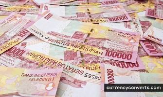 Indonesian Rupiah IDR currency banknote image 2