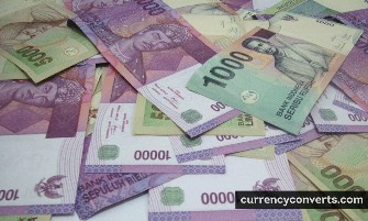 Indonesian Rupiah IDR currency banknote image 3