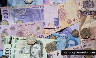 Mexican Peso MXN currency banknote image 2
