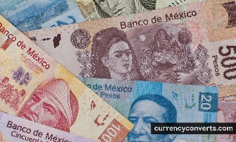Mexican Peso MXN currency banknote image 3