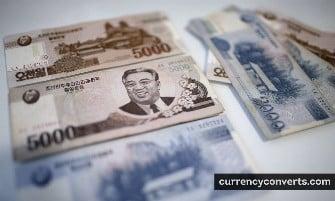 North Korean Won - KPW money images