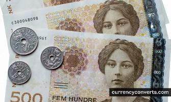 Norwegian Krone NOK currency banknote image 3