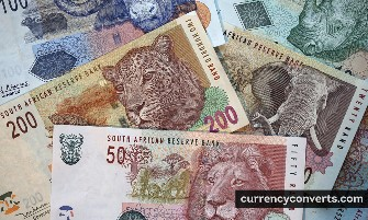 South African Rand ZAR currency banknote image 3