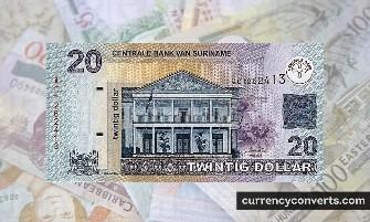 Surinamese Dollar - SRD money images