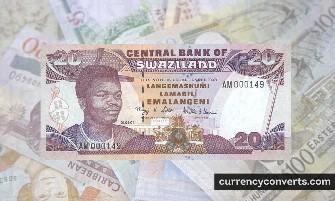 Swazi Lilangeni - SZL money images
