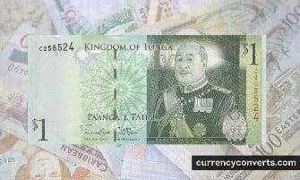 Tongan Paʻanga - TOP money images