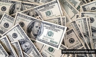 US Dollar USD currency banknote image