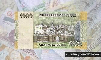 Yemeni Rial - YER money images