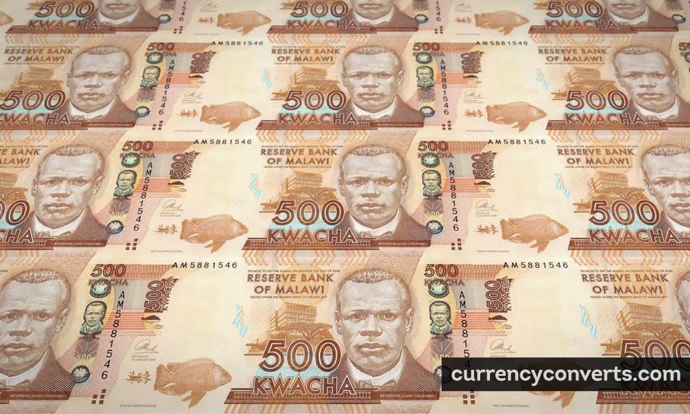 Malawian kwacha - MWK money image