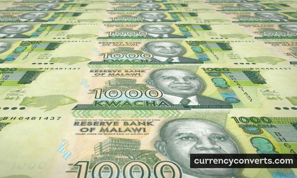 Malawian Kwacha MWK currency banknote image
