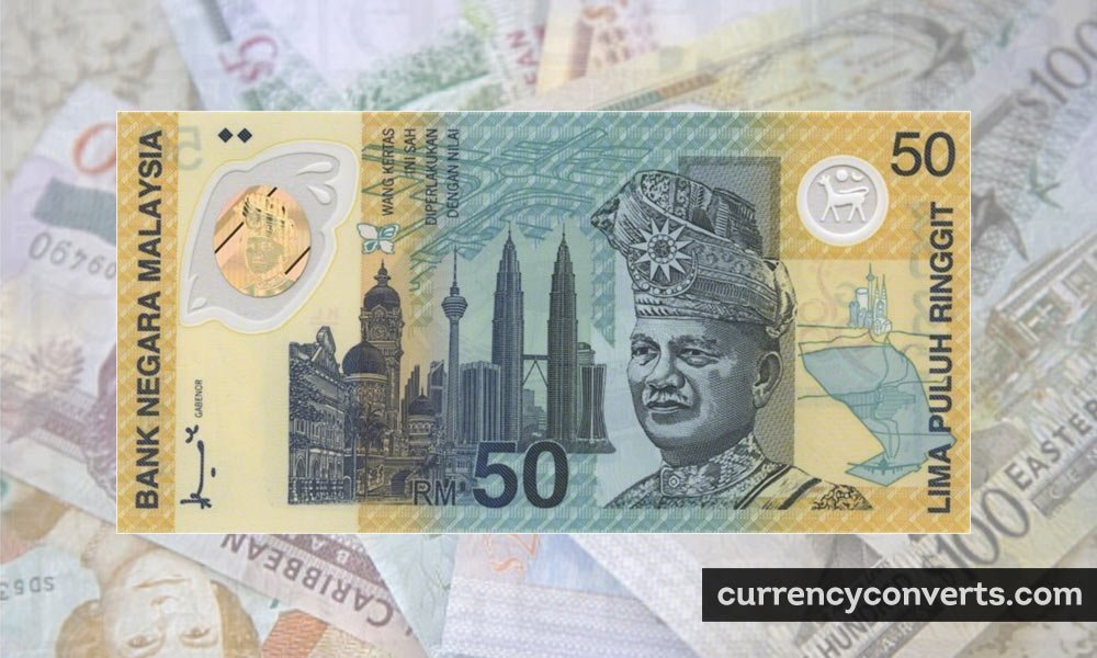 Malaysian Ringgit MYR currency banknote image
