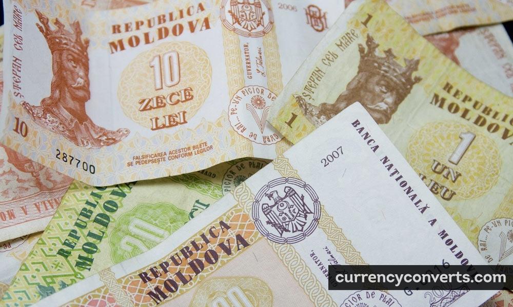 Moldovan leu - MDL money image
