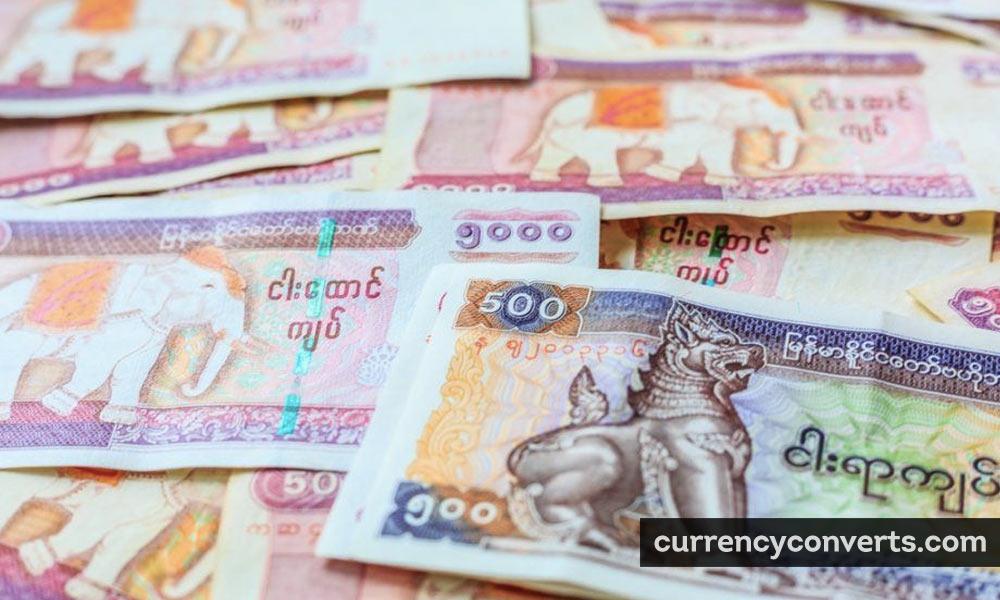 Myanma kyat - MMK money image