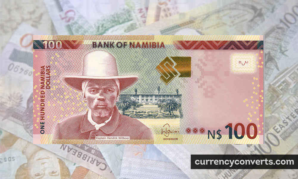 Namibian Dollar NAD currency banknote image