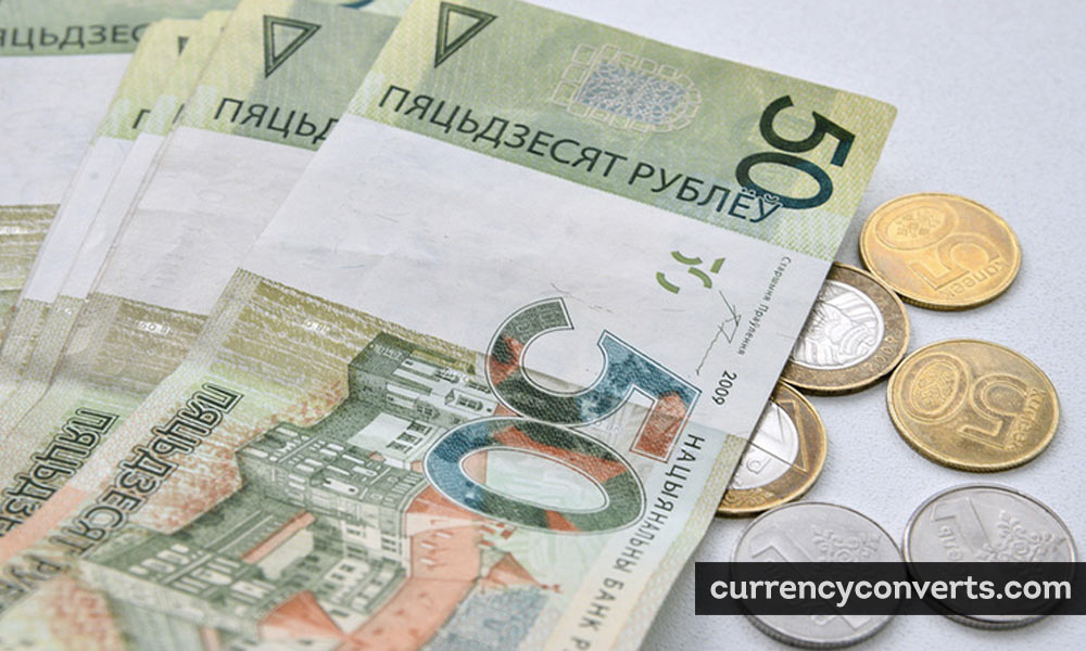 New Belarusian Ruble BYN currency banknote image