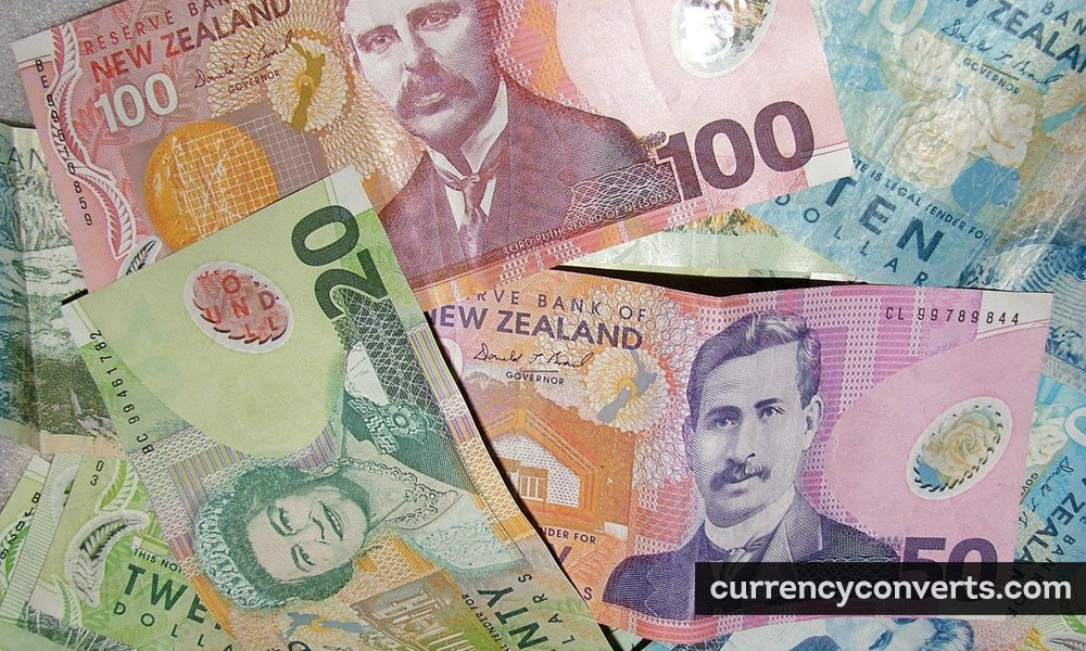 New Zealand Dollar NZD currency banknote image