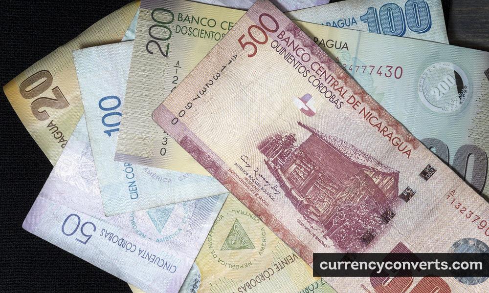Nicaraguan cordoba - NIO money image
