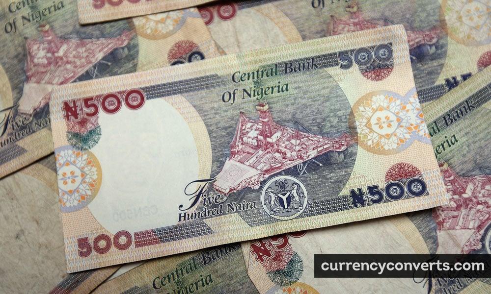 Nigerian naira - NGN money image