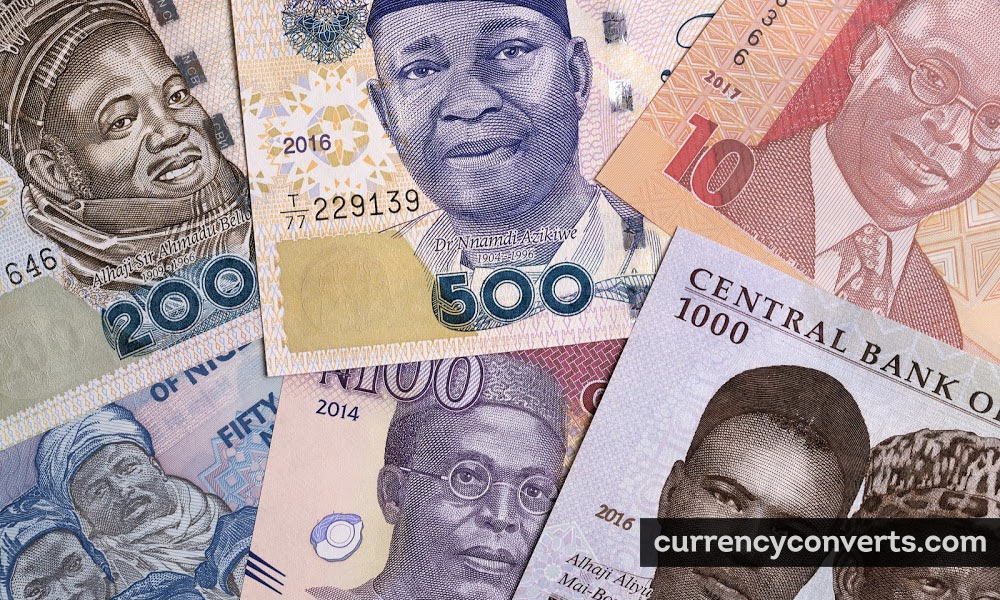 Nigerian Naira NGN currency banknote image