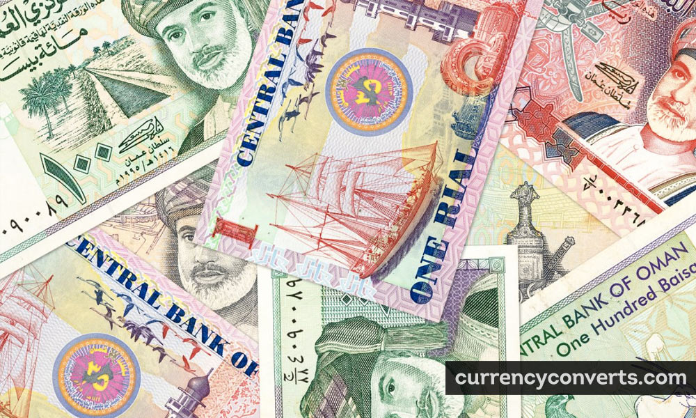 Omani Rial OMR currency banknote image