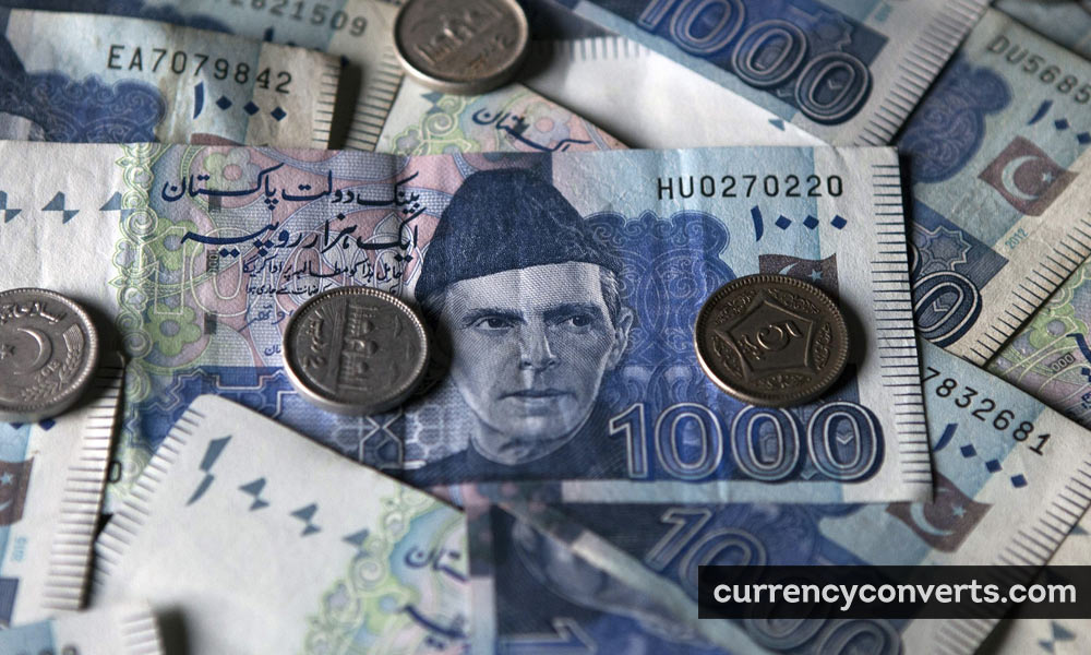 Pakistani Rupee PKR currency banknote image