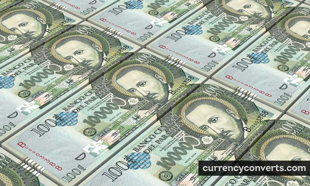 Paraguayan guarani - PYG money image