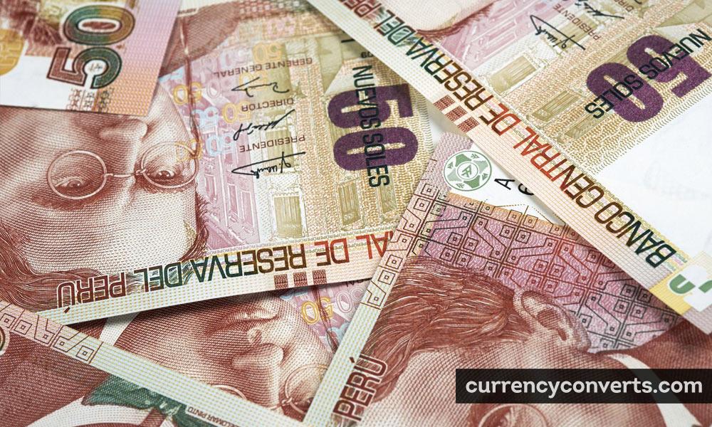 Peruvian nuevo sol - PEN money image