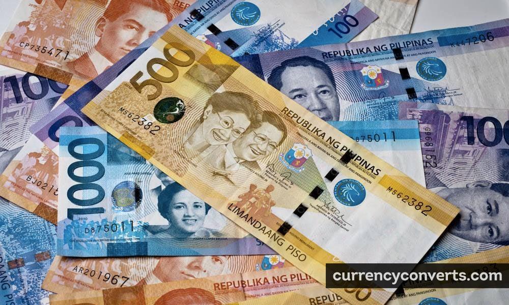 Philippine peso - PHP money image