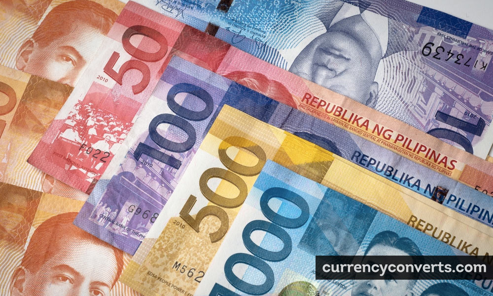 Philippine Peso PHP currency banknote image