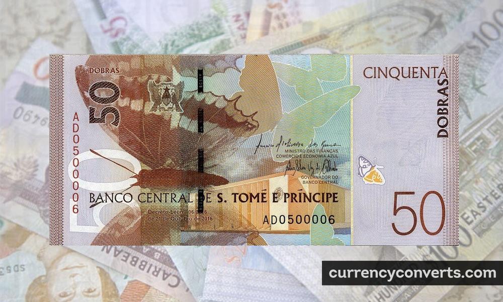 São Tomé And Príncipe Dobra STD currency banknote image