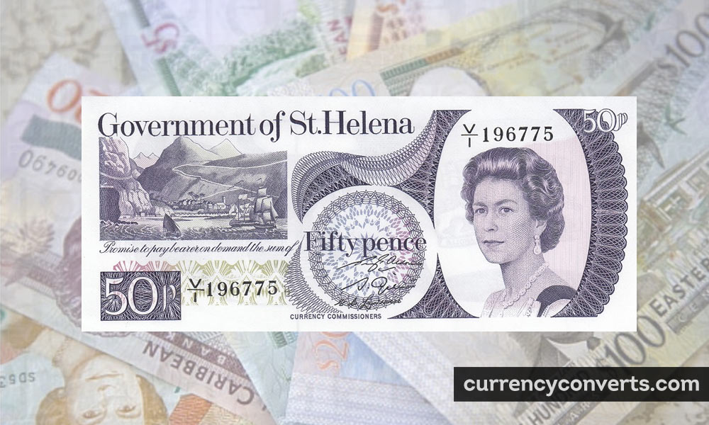 Saint Helena Pound SHP currency banknote image