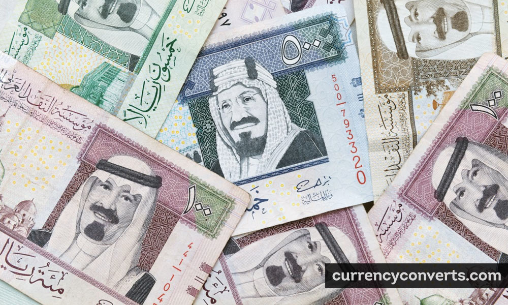 Saudi Riyal SAR currency banknote image