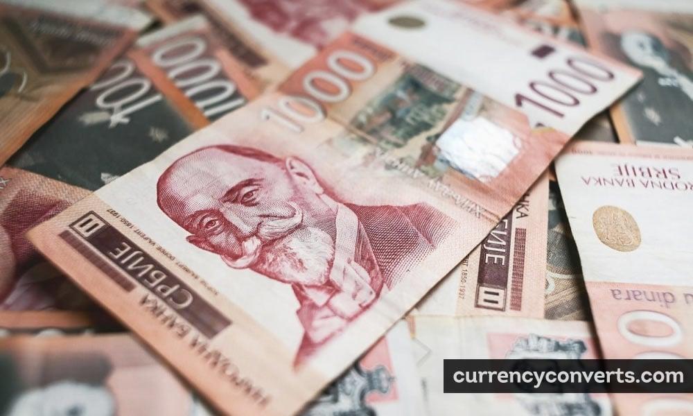 Serbian dinar - RSD money image