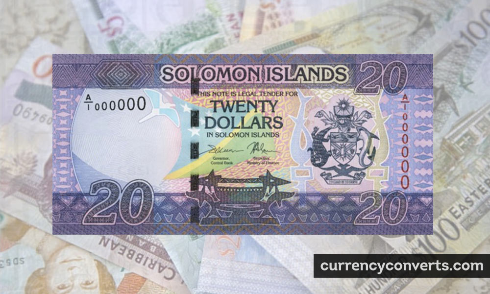 Solomon Islands Dollar SBD currency banknote image