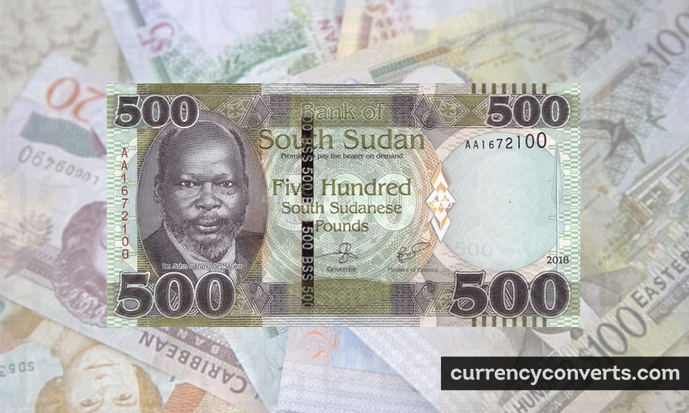 Sudanese Pound SDG currency banknote image