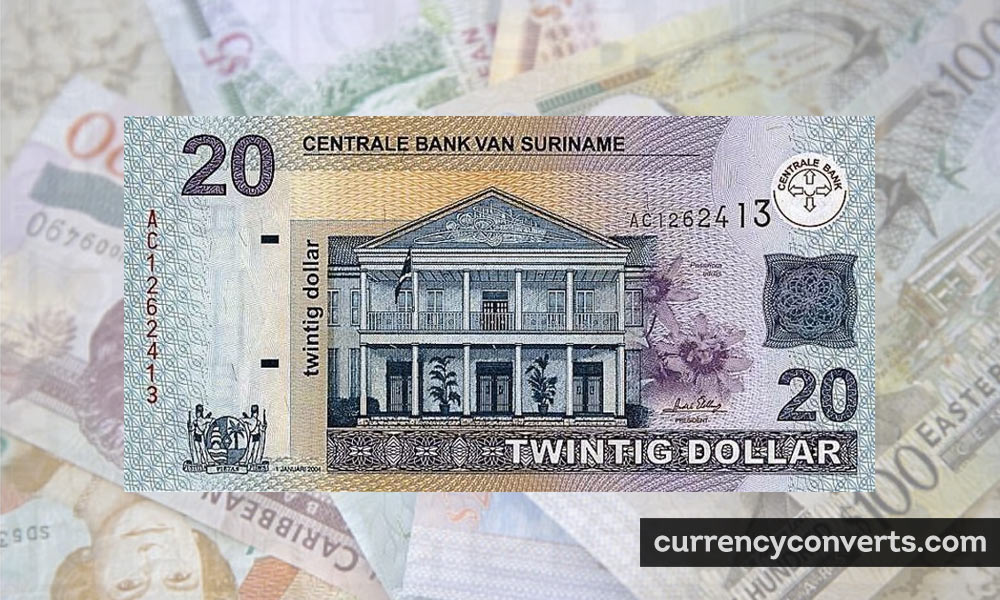 Surinamese dollar - SRD money image