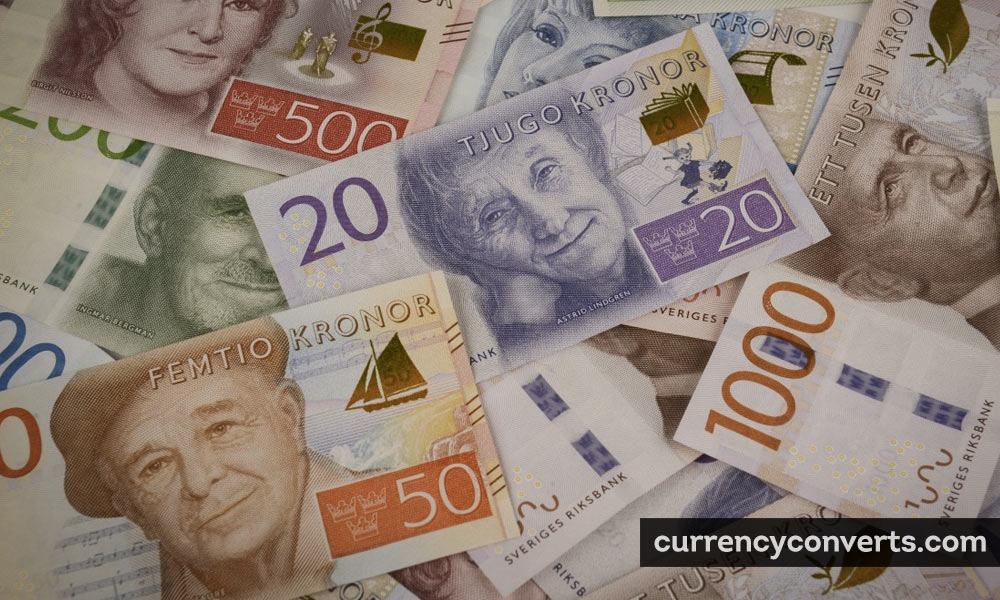 Swedish krona - SEK money image