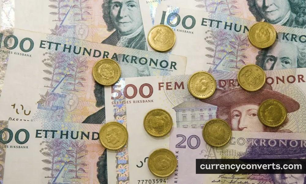Swedish Krona SEK currency banknote image