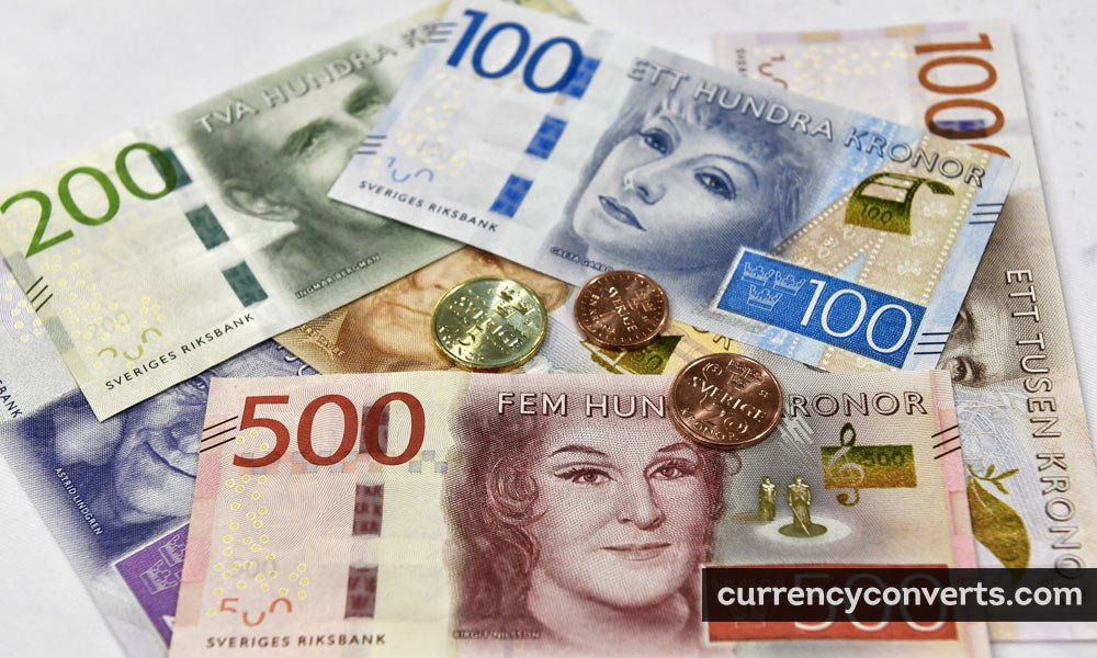Swedish Krona SEK currency banknote image