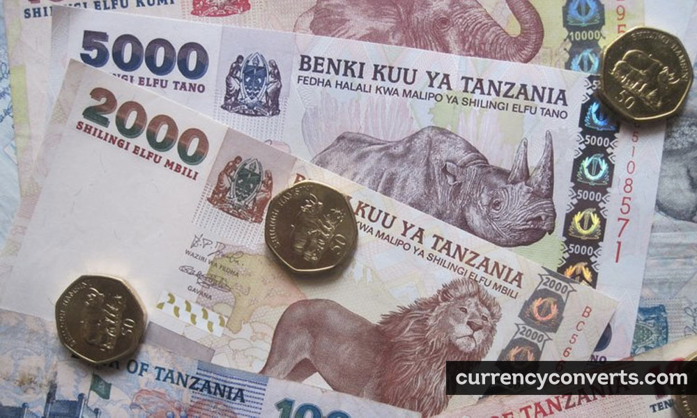 Tanzanian shilling - TZS money image