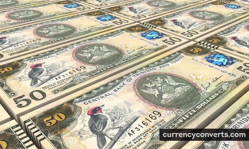 Trinidad and Tobago dollar - TTD money image