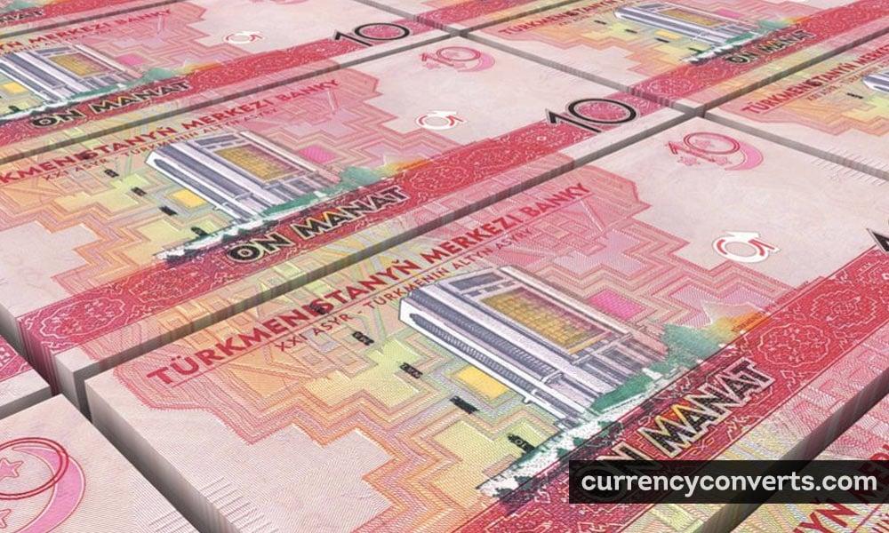 Turkmenistan manat - TMT money image